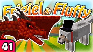 FRIGIEL & FLUFFY : Le dragon | Minecraft - S7 Ep.41
