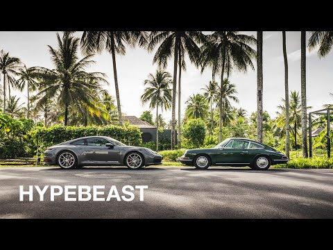 Watch Porsche Take Eight Generations of the 911 on an Epic Road Trip Through Thailand