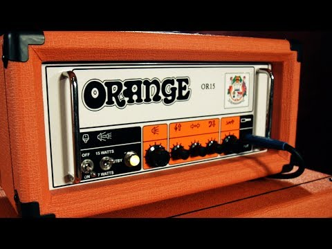 Product Spotlight - Orange Amplifiers OR Series OR15H 15W Compact Tube Guitar Amp Head