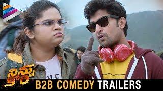 Ninnu Kori Back 2 Back Comedy Trailers | Nani | Nivetha Thomas | Aadhi | Telugu Filmnagar