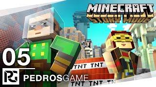 Pedro | Minecraft Story Mode | E05 - Uvězněni v pasti | PC | CZ/SK