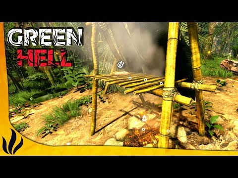 CAMP INDIGÈNE, FUMOIR, SCORPION & EXPLORATION ! (Green Hell #5)