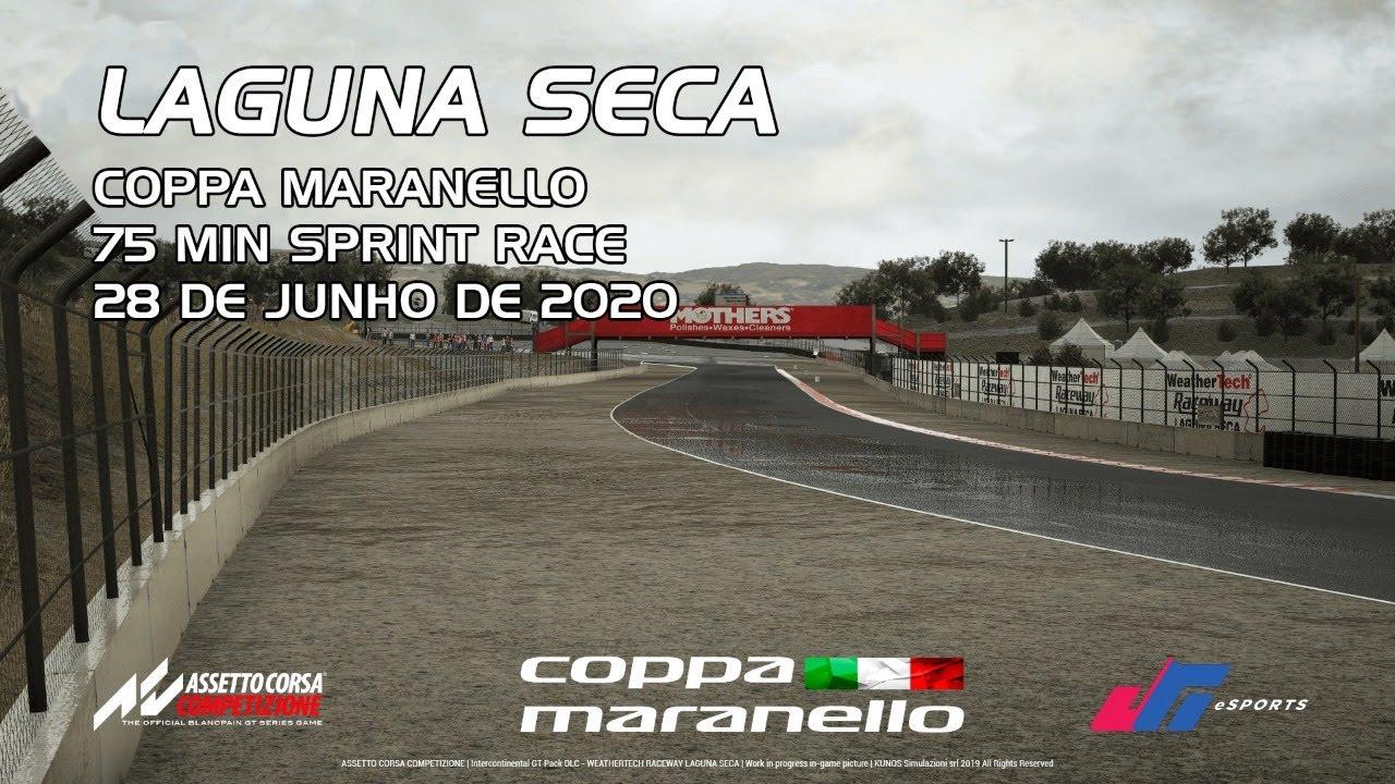 Coppa Maranello :: Laguna Seca :: 75 minutos Sprint Race