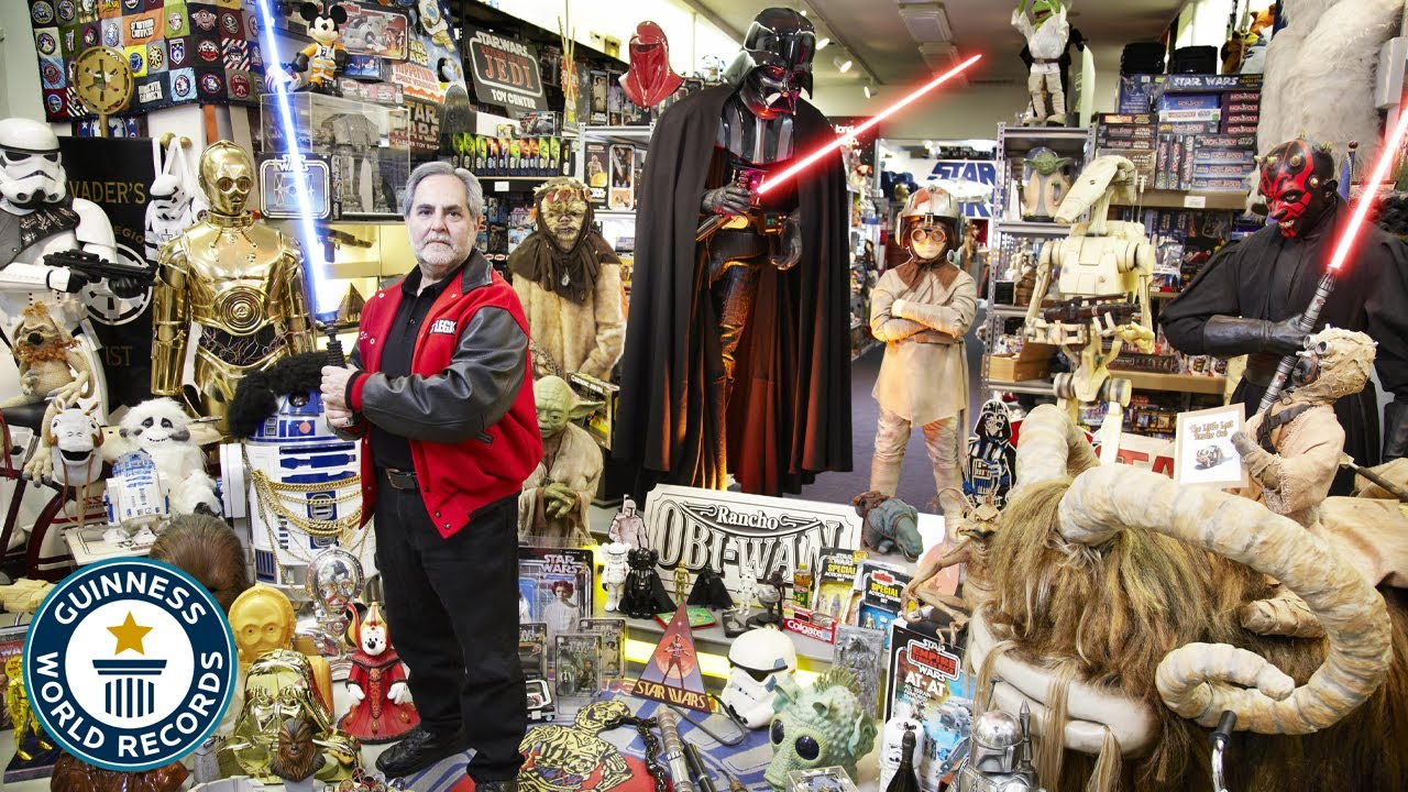 Biggest Star Wars Collection! May the 4th be with you - Guinness World Records