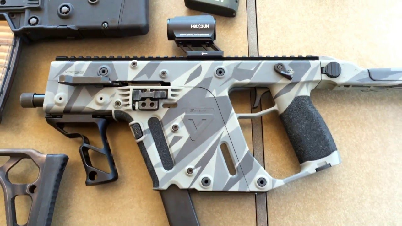 quick overview of the new x95 kriss vector sbr sig mpx sbr a