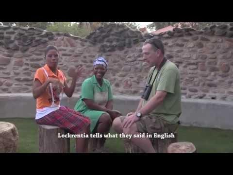 Demonstration of NAMA - a native language of Namibia