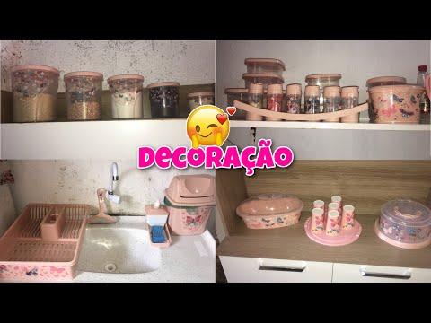 DECORANDO MINHA COZINHA/TUDO