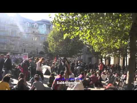 ميدان التحرير فى لندن/  Occupy London Stock Exchange Protest ,,OccupyLSX