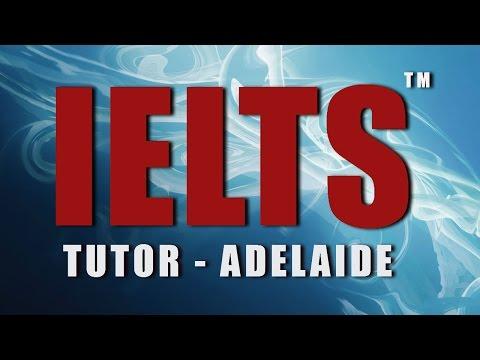 IELTS Vocabulary Adelaide South Australia