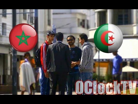 Morocco-Algeria [Social Experiment] - حقيقة العلاقة بين المغاربة و الجزائريين  OClockTV