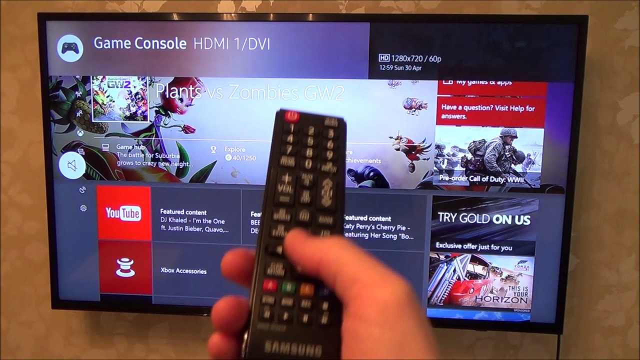 How To Setup Game Mode On Your Tv Youtube