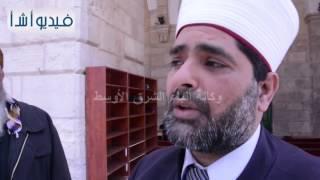 بالفيديو: قوات الاحتلال الإسرائيلي تقتحم باحات المسجد الأقصى