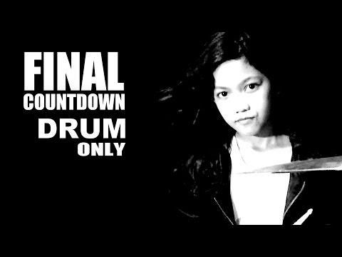 Final Countdown - Silent Knight (DRUM ONLY VERSION) by Nur Amira Syahira