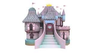 Pretty Princess Castle - Luxury Wooden Playhouse