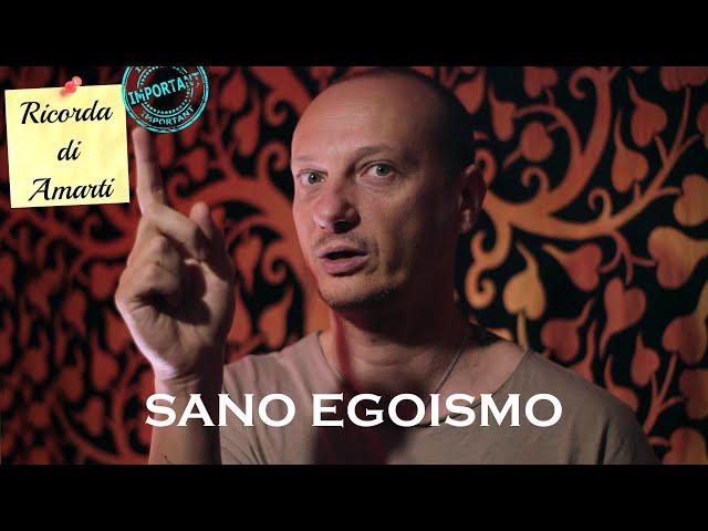 SANO EGOISMO