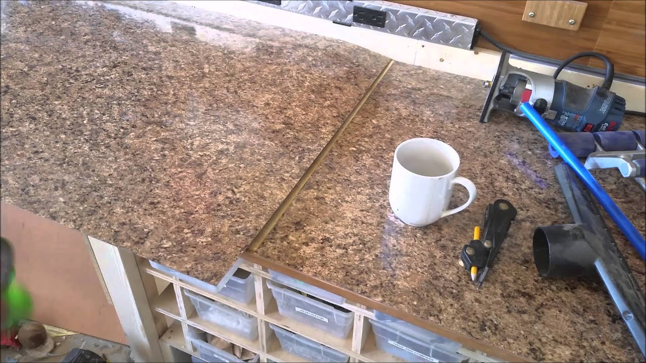 How To Install Laminate On Counter Tops