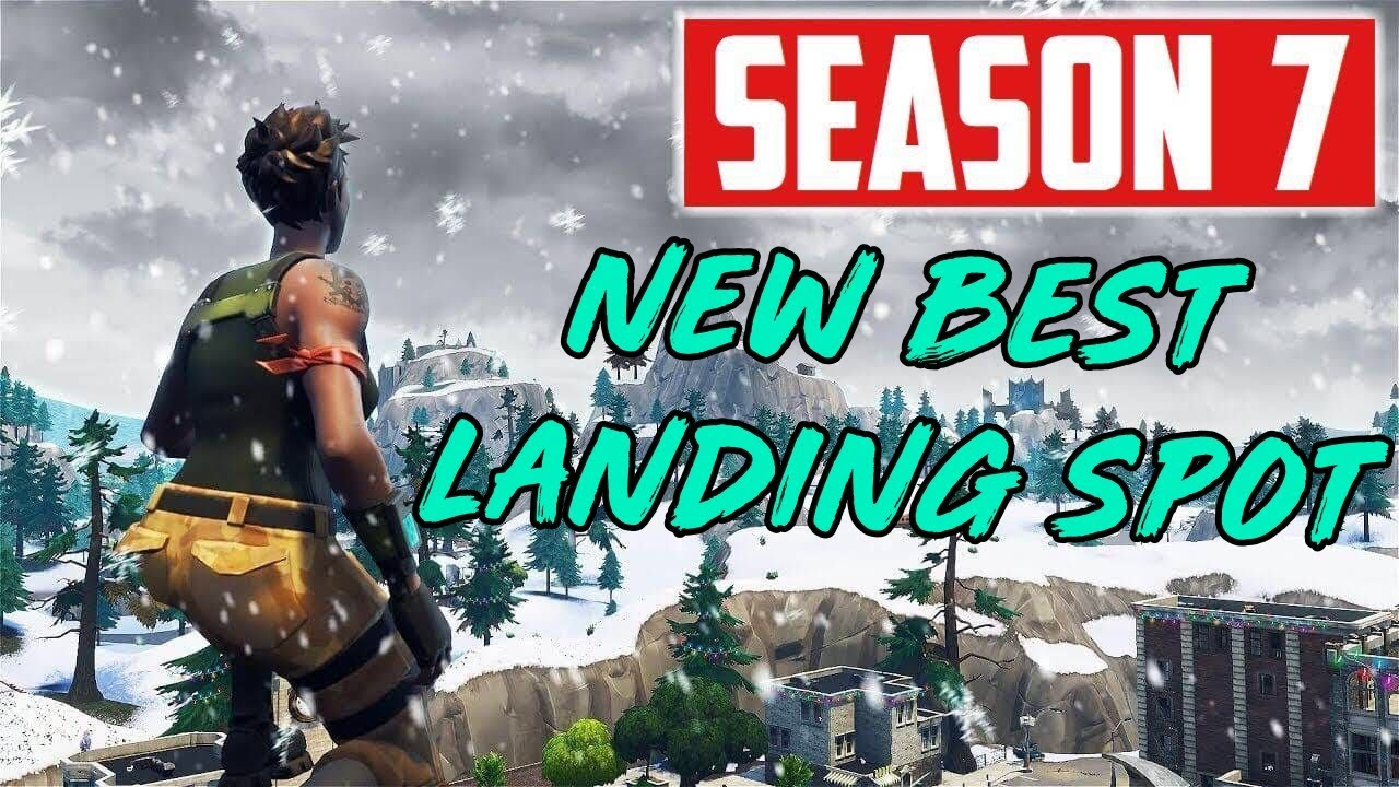 new best landing spot in season 7 fortnite how to get more wins - good places to land in fortnite season 7