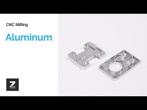 CNC milling: Aluminum   ZMorph