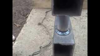 Самодельная батарея для отопления (регистр)(Небольшое видео о том как можно самому имея навыки работы сварочным аппаратом изготовить батарею для отоп..., 2014-05-08T14:13:10.000Z)