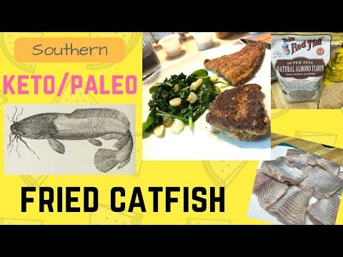 How To | Keto/Paleo Southern Catfish Fry | Easy Recipe | Comfort Food