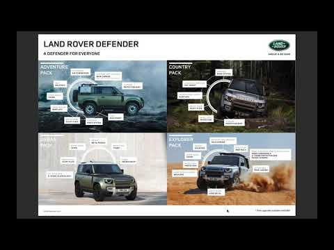 "Land Rover Defender Part 2 ""Ordering Defender"""