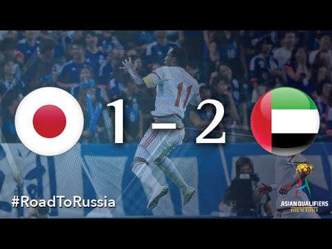 Japan vs UAE (Asian Qualifiers - Road to Russia)