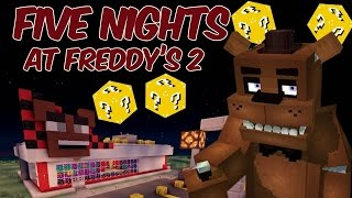 five nights at freddy s 2 minecraft lucky blocks mod pvp challenge
