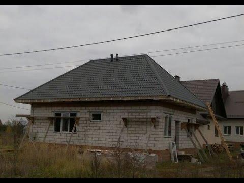 Четырехскатная вальмовая крыша своими руками