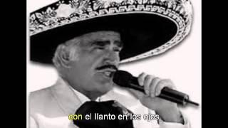Me Canse De Rogarle Vicente Fernandez Karaoke