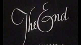 футаж в стиле ретро , старая пленка The End