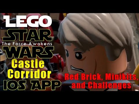Lego Star Wars The Force Awakens Castle Corridors Minikits And