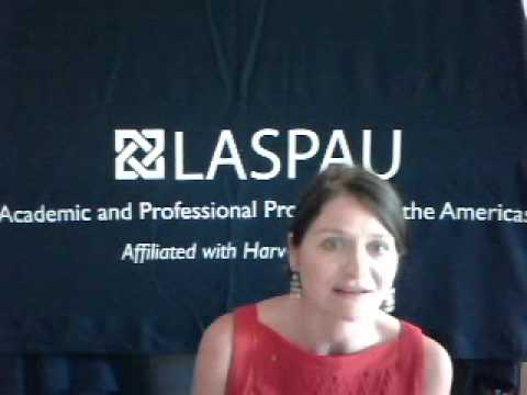 Expert Presentation from LASPAU: Scholarship Opportunities for Latin America and the Caribbean