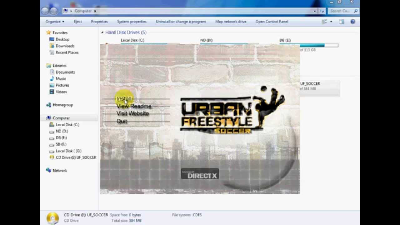urban freestyle soccer free download utorrent