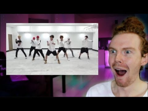 REACTING TO BTS DANCE PRACTICE!!! (and then recreating them!)