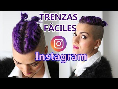Trenzas De Ra 205 Z En Pelo Corto Violet Braids Hair