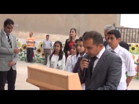 Mardin'de TÜBİTAK Bilim Fuarı açıldı 12 05 2014 MARDİN