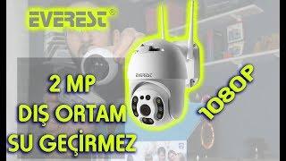 EVEREST DF-804W 2.0 MP 1080p IP DIŞ ORTAM SU GEÇİRMEZ MOTORLU GÜVENLİK KAMERASI