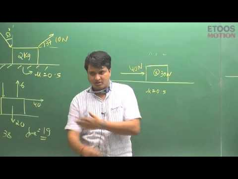 Friction Video Lectures of Physics by Nitin Vijay (NV) Sir (ETOOSINDIA.COM)