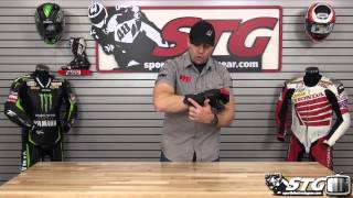 AGV Sport GPR Full Gauntlet Riding Glove Review from Sportbiketrackgear.com