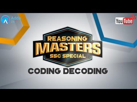 Coding Decoding | Reasoning Tricks for SSC CGL 2017