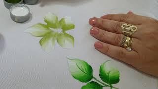 Pintura para Iniciantes – Aprenda Pintar Folhas