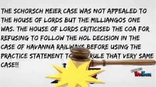 AS Law - Judicial Precedent and the Court of Appeal