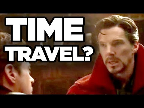INFINITY WAR - Time Travel Theory EXPLAINED!