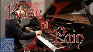 ROSE OF PAIN,X(YOSHIKI), KODA Piano solo arrangement,ローズオブペイン ピアノソロ編曲版