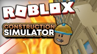 Build a BANK?! 👷 CONSTRUCTION SIMULATOR » ROBLOX German