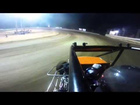 Southern Illinois Raceway | Outlaw Non-Wing A-Main | June 6th, 2015 | Collin Wece
