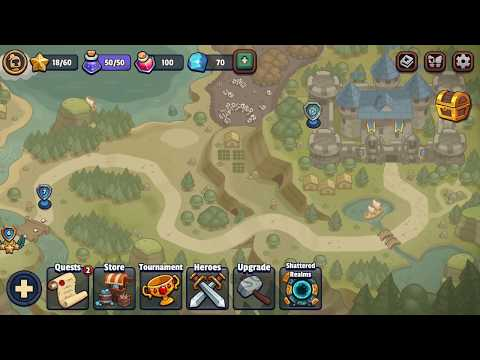 Realm Defense: Hero Legends TD Part 2 (by Babeltime Inc) / Android Gameplay HD