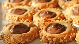 Findikli çikolatali kurabiye tarifi