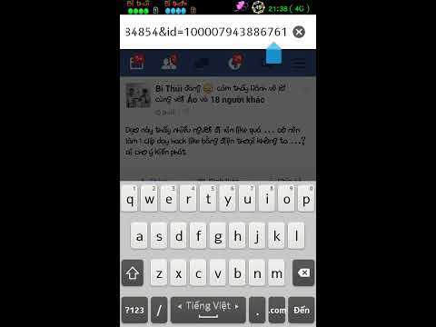 Cách hack like bằng điện thoại