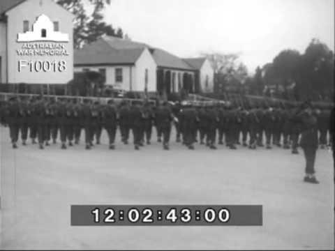 Field Marshal Montgomery's visit to Australian War Memorial & Duntroon